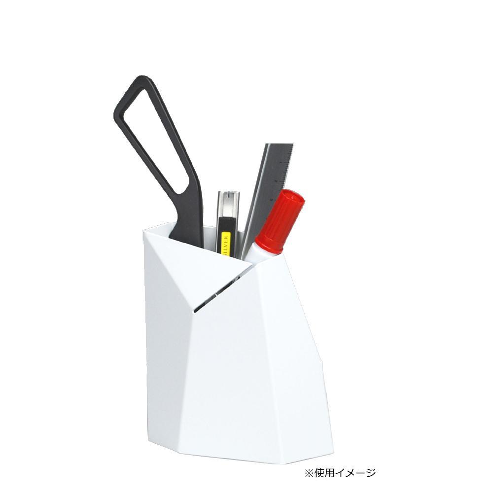 Oyster ペンスタンド Mサイズ ホワイト【文具】