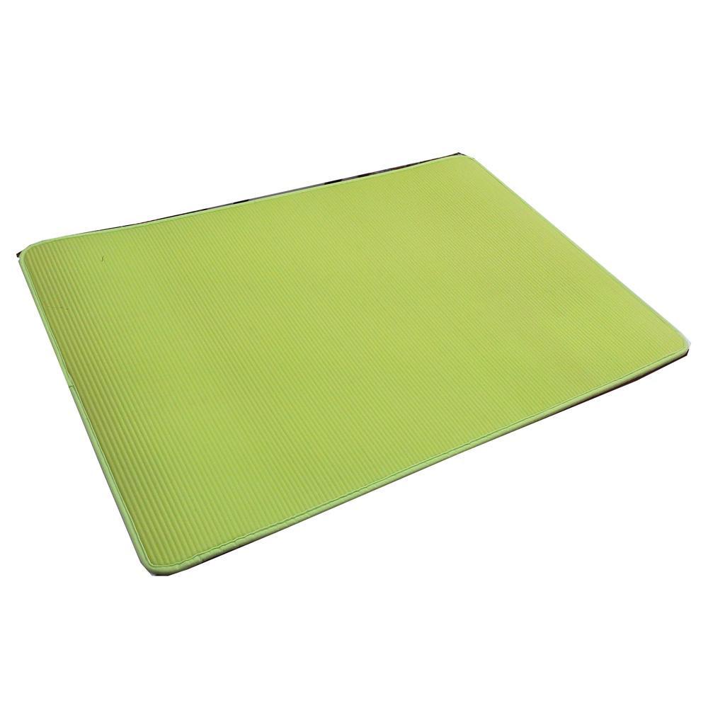 大島屋 ふわりーなシリーズ マルチマット リバーシブル GN(グリーン) 約60×90cm【台所用品】