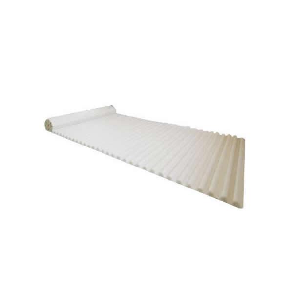 イージーウェーブ風呂フタ 90×160cm用 ホワイト【バス 洗面】