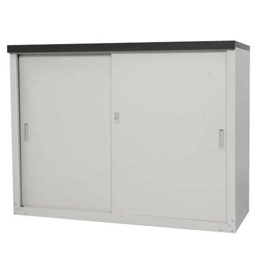 【代引き・同梱不可】HS-1292 家庭用収納庫 92cm【収納用品】
