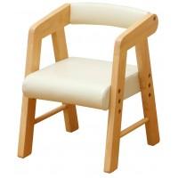 色がかわいい肘付きの椅子 代引き 同梱不可 大人気! na-KIDS ネイキッズ キッズPVCチェアー タイムセール テーブル イス 家具 KDC-2401 肘付き