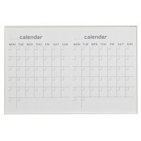 【代引き・同梱不可】馬印 MR series(エムアールシリーズ)壁掛 予定表(カレンダー)ホワイトボード W910×H610mm MR23W【文具】