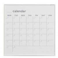 【代引き・同梱不可】馬印 MR series(エムアールシリーズ)壁掛 予定表(カレンダー)ホワイトボード W610×H610mm MR22W【文具】
