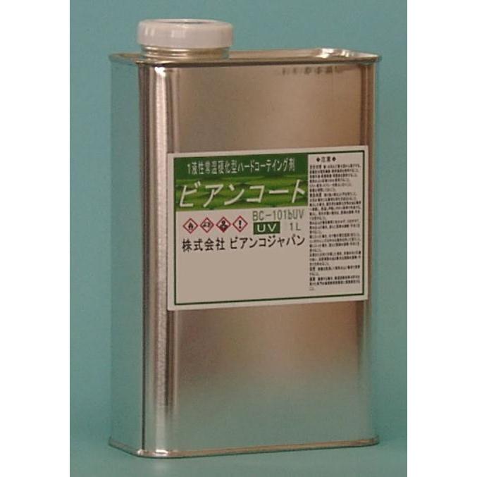 【代引き・同梱不可】ビアンコジャパン(BIANCO JAPAN) ビアンコートB ツヤ有り(+UV対策タイプ) 1L缶 BC-101b+UV【掃除関連】