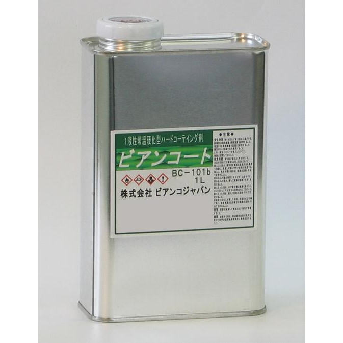 【代引き・同梱不可】ビアンコジャパン(BIANCO JAPAN) ビアンコートB ツヤ有り 1L缶 BC-101b【掃除関連】