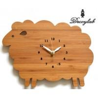 【代引き・同梱不可】Made in America DECOYLAB(デコイラボ) 掛け時計 SHEEP ひつじ【置物・掛け時計】