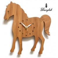 【代引き・同梱不可】Made in America DECOYLAB(デコイラボ) 掛け時計 HORSE うま【置物・掛け時計】