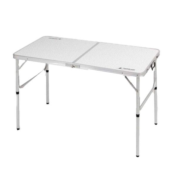 CAPTAIN STAG ラフォーレ アルミツーウェイテーブル(アジャスター付)(M) 120×60cm UC-0510 /スポーツ アウトドア アウトドア イス テーブル レジャーシート テーブル キャプテンスタッグ