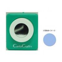 カードやスクラップブッキングに最適なクラフトパンチ Carla 付与 男女兼用 Craft カーラクラフト ミドルサイズ 文具 4 3 サークル クラフトパンチ