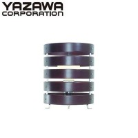 YAZAWA(ヤザワコーポレーション) 木製 フロアスタンドライト 電球形蛍光灯60W 1灯 茶 Y07SDE60X01DW【照明】