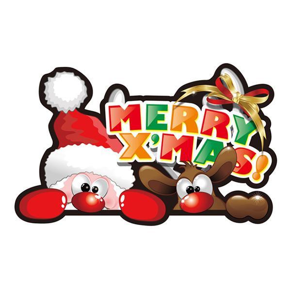 Pデコパネ(デコレーションパネル) メリークリスマス W500×H310mm 40310【玩具】