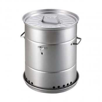 ビア缶チキンと燻製ができる 1台2役のスモーカー CAPTAIN STAG UG-1058 最新号掲載アイテム ビア缶チキン 評判 キャプテンスタッグ スモーカー