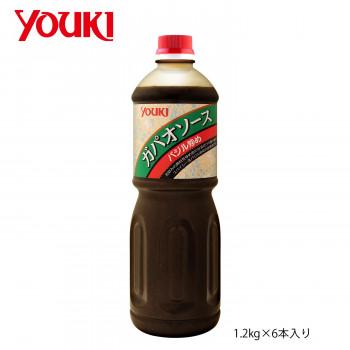 公式ストア 倉庫 タイの ガパオ炒め が簡単に作れる合わせ調味料です 代引き 同梱不可 YOUKI バジル炒め 1.2kg×6本入り 210740 ガパオソース ユウキ食品