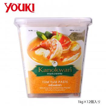 タイの本格的な トムヤム が簡単に作れる調味料です 代引き 同梱不可 YOUKI 激安☆超特価 ユウキ食品 1kg×12個入り 低価格 210213 トムヤムペースト カノワン