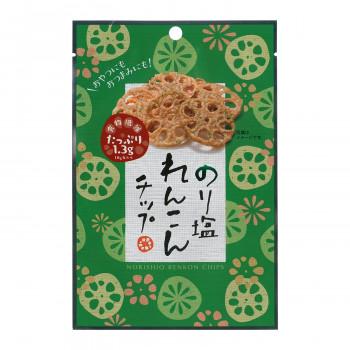 食物繊維たっぷり 【代引き・同梱不可】壮関 のり塩れんこんチップ 18g×120袋