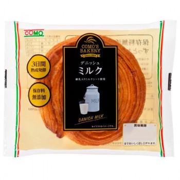 ソフトな食感が特徴のミルク風味のデニッシュ 【代引き・同梱不可】コモのパン デニッシュミルク ×18個セット