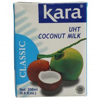 [ギフト/プレゼント/ご褒美] UHT製法でココナッツの新鮮な風味をそのままパックしました カラ クラシック ココナッツミルク 200ml 値下げ 25個セット 473 UHT