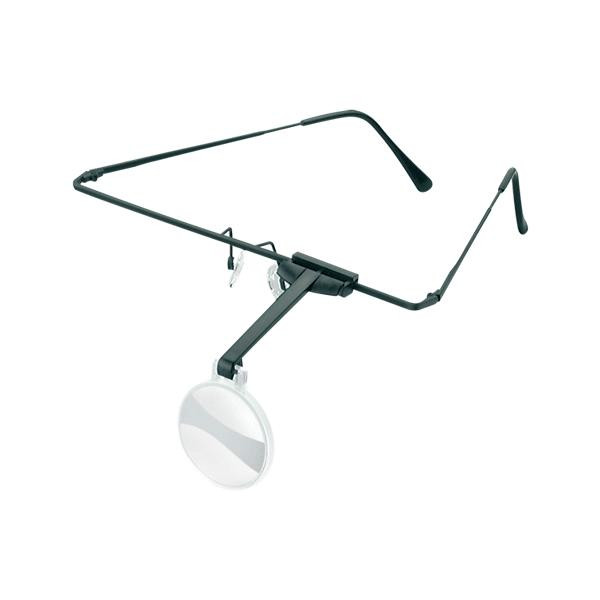 エッシェンバッハ 1644-54【介護用品】 ラボ・フレーム (4.0倍) 眼鏡のように耳に掛けるフレームタイプの作業用ルーペ