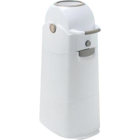 ポンッと入れてくるっと回すだけのおむつ処理容器 リトルプリンセス おむつ処理容器 引き出物 くるっとポン ミディアムサイズ アイデアベビー用品 ブロンズ おしゃれ