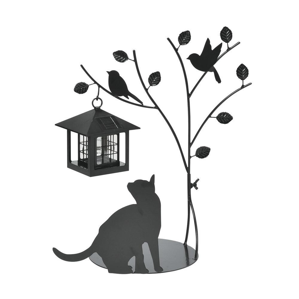 セトクラフト シルエットソーラー(Tree&Cat) SI-1954-900【ガーデニング・花・植物・DIY】