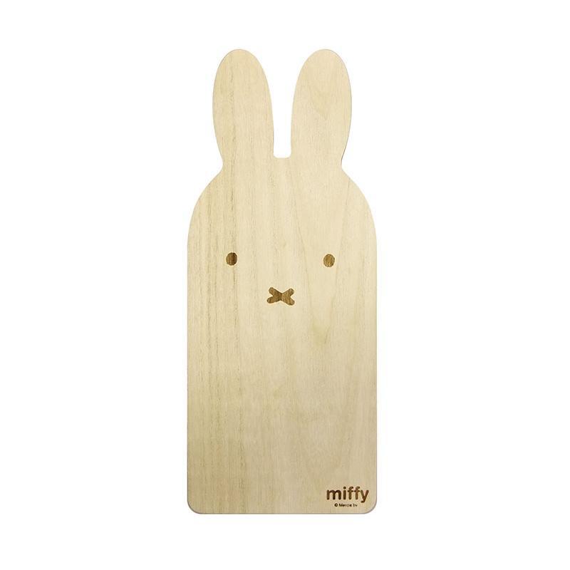 かわいい木製のカッティングボードです。 ミッフィー カッティングボードロング ミッフィーフェイス DB1500【調理用品】