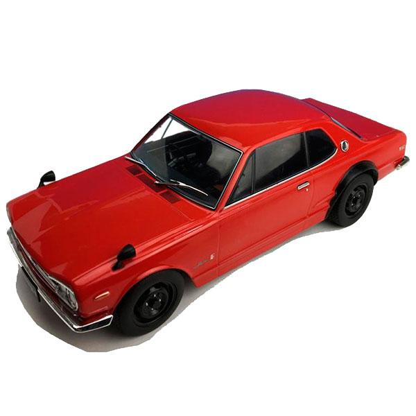 First18/ファースト18 日産 スカイライン GT-R (KPGC10) レッド 1/18スケール F18003【玩具】