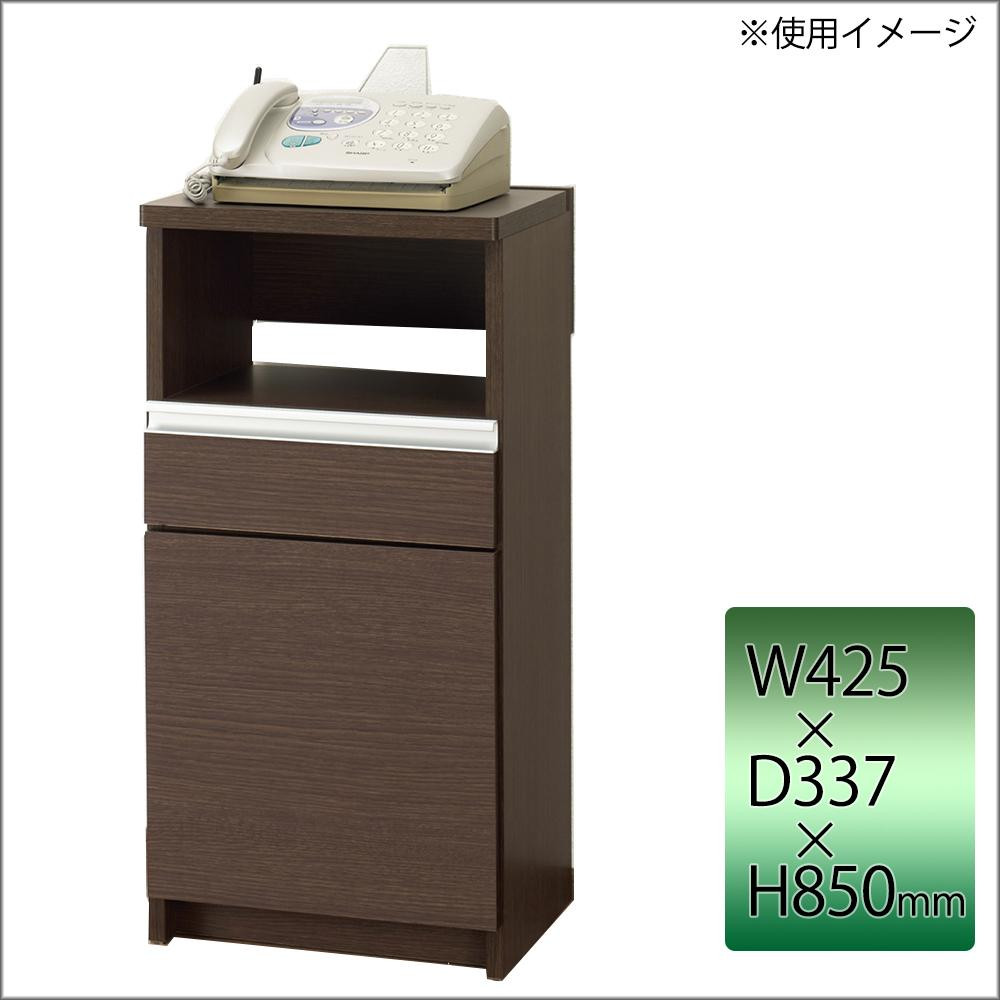 フナモコ 日本製 FAXカウンター 425×337×850mm レベッカオーク FXR-425【収納用品】