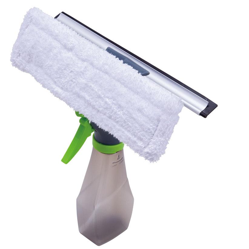 再再販 1つ3役で手軽にお掃除 スプレー付きのワイパーモップ アイデア掃除関連 人気ブランド