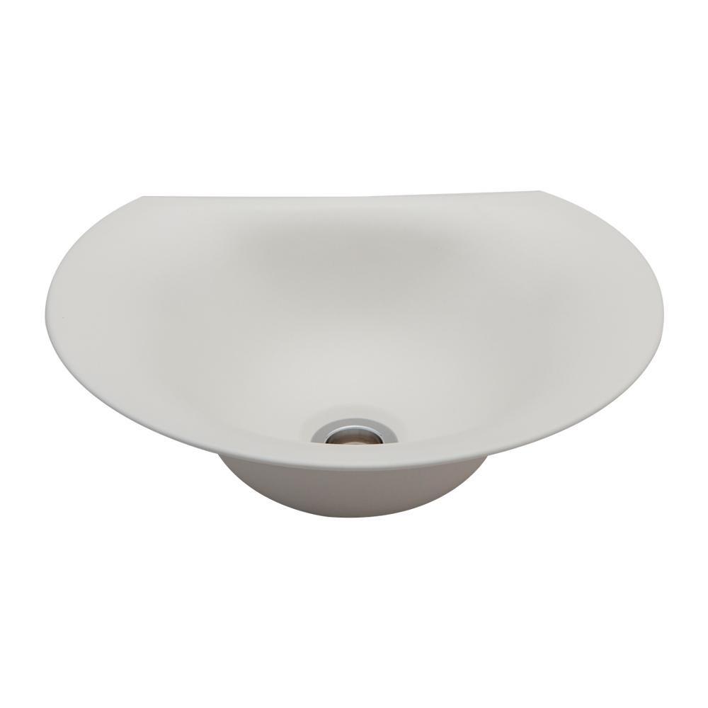 【代引き・同梱不可】置き型手洗器Φ330(モノクローム・シリーズ/艶白) LSM4C-TU【その他インテリア】