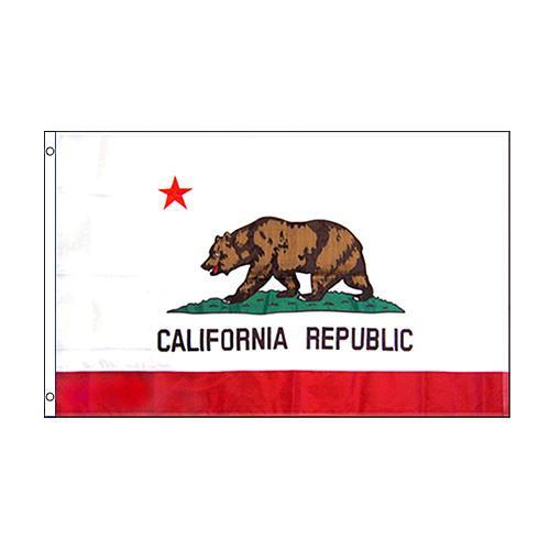 フラッグ 刺繍 Embroidered USA 3'×5' F-CALINYEMB【玩具】