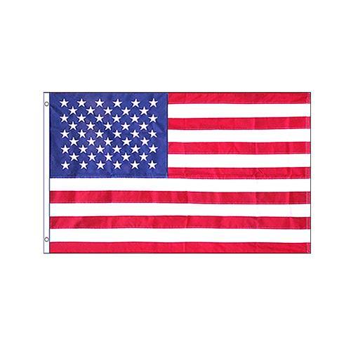 フラッグ 刺繍 Embroidered USA 4'×6' F-EMBUSA-46【玩具】