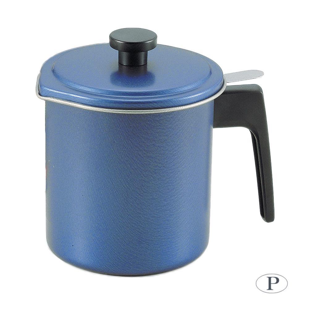 パール金属 オーリオ ふっ素樹脂加工オイルポット1.2L (ブルー) H-5069【容器・ストッカー・調味料容器】
