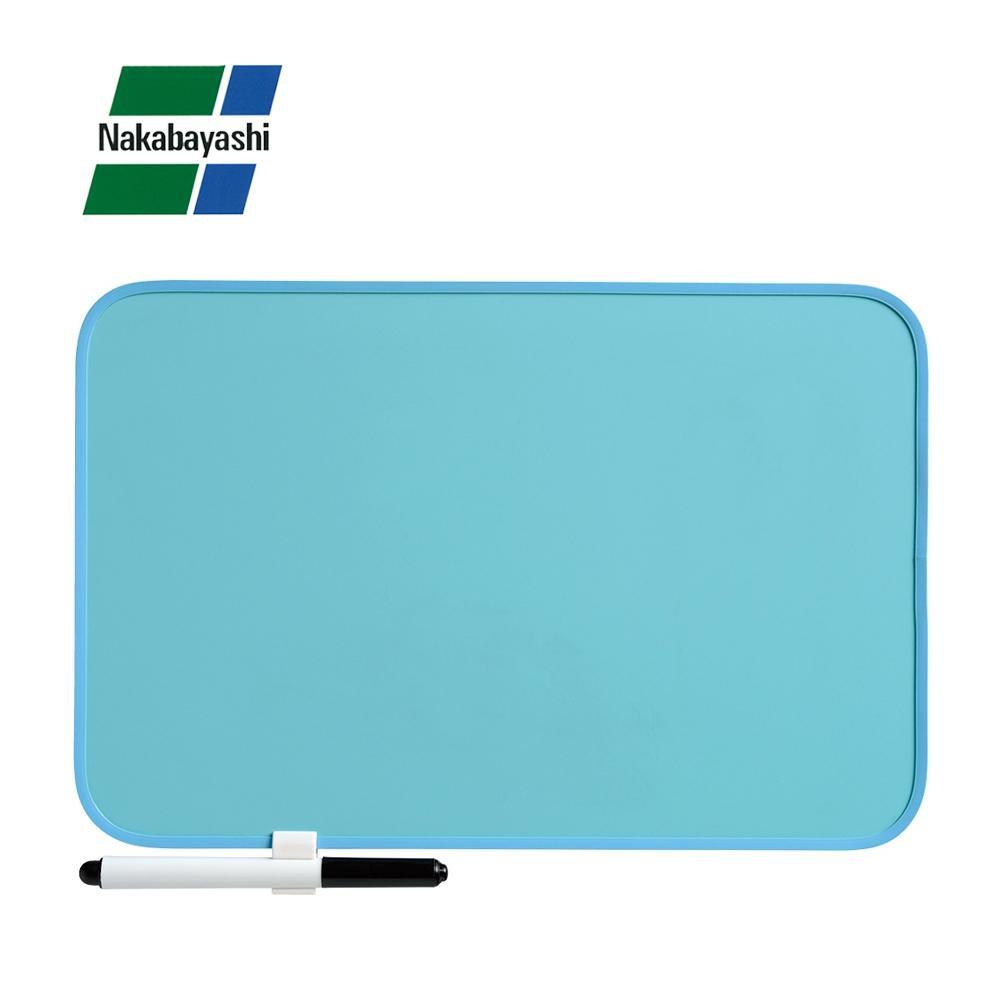 カラフルでシンプルなデザインのホワイトボード。 ナカバヤシ カラフルボード 300×200mm ブルー IBP-3020B【文具】