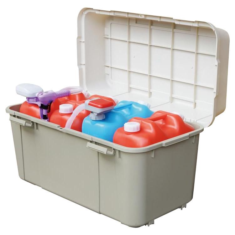 たっぷり収納でき 色々な用途に使えるボックス 代引き 同梱不可 収納用品 日本製 授与 キャスター付き 出荷 880サイズ GP-210010S スペースボックス