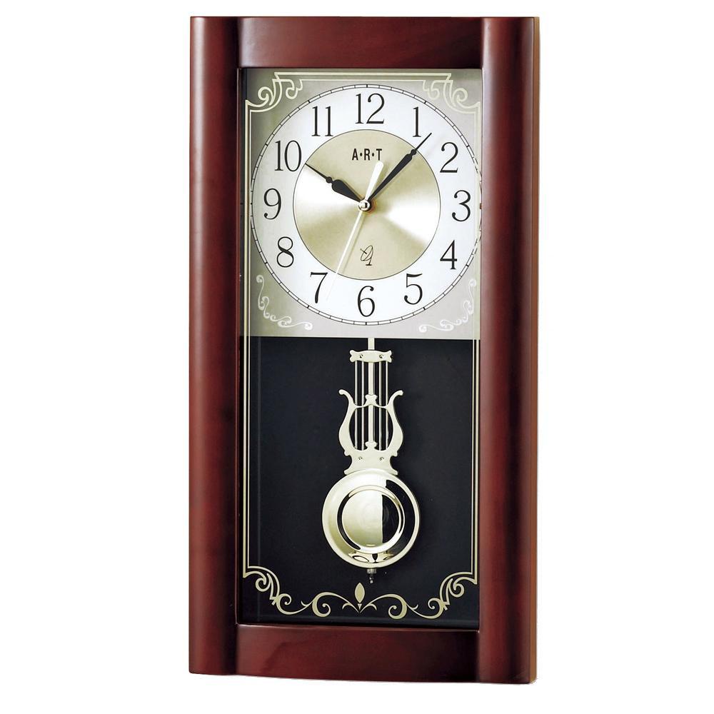 東出漆器 ロイヤル電波時計 1617【置物・掛け時計】