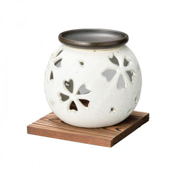 贈り物や普段使いにもおすすめです 富仙白マット茶香炉 驚きの価格が実現 M-1603 商舗