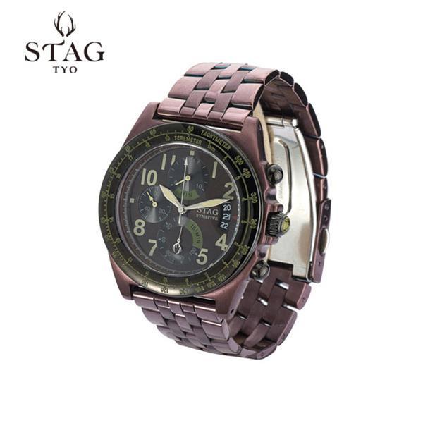 STAG TYO 腕時計 STG007B1 腕時計 STG007B1【腕時計【腕時計 男性用 STAG】, 久遠郡:aa196e2d --- officewill.xsrv.jp