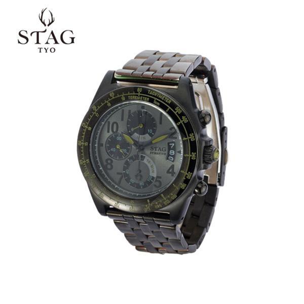 STAG TYO TYO 腕時計 STG007B2【腕時計 男性用 STAG 腕時計】, Happy×Hunter:aebfd1b6 --- officewill.xsrv.jp