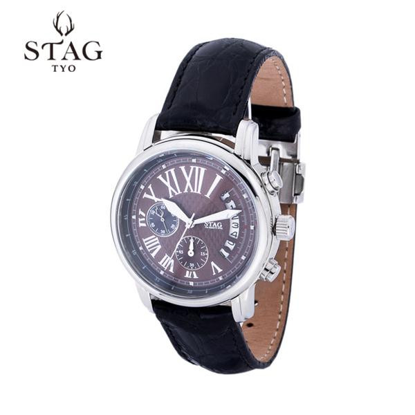 STAG TYO STAG 腕時計 腕時計 STG011P1【腕時計 TYO 男性用】, アベイルコマドリ(生地毛糸):3d46deeb --- officewill.xsrv.jp