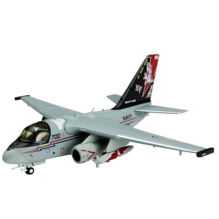 M-SERIES/エム シリーズ S-3B バイキング VS-21 ファイティングレッド・テイルズ NF700 CAG 2 1/200スケール 7815【玩具】