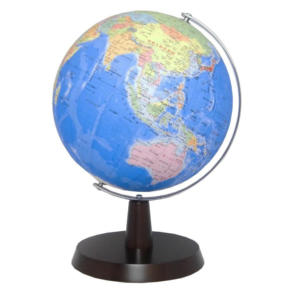 【代引き・同梱不可】SHOWAGLOBES 地球儀 行政図タイプ 26cm 26-GAM(知育玩具)