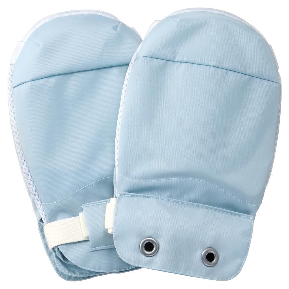 竹虎 セーフミトンII ブルー 1双(2枚)入 左右兼用 041051【衛生用品】