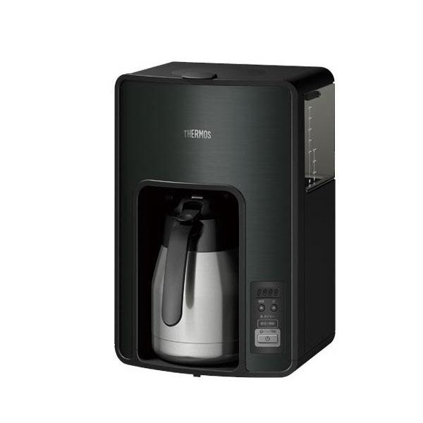 サーモス 真空断熱ポットコーヒーメーカー 1.0L ECH1001-BK【調理・キッチン家電】