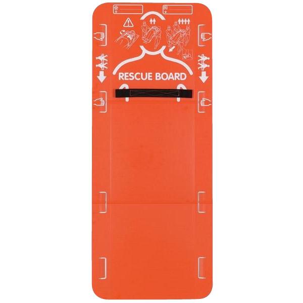 震災の経験から開発された、紙製のレスキューボード。 【代引き・同梱不可】レスキューボード 5台セット【防災】