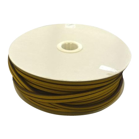 【代引き・同梱不可】光 (HIKARI) 戸当り防音クッションテープ粘着付茶D型 6×18mm KD8-50W  50m【ガーデニング・花・植物・DIY】