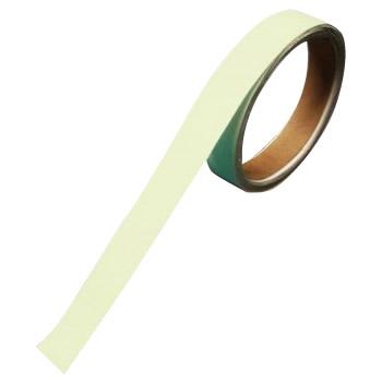 【代引き・同梱不可】青緑色発光 超耐久蓄光ラインテープ 50mm幅×10m BBA-5010 189501【防災】