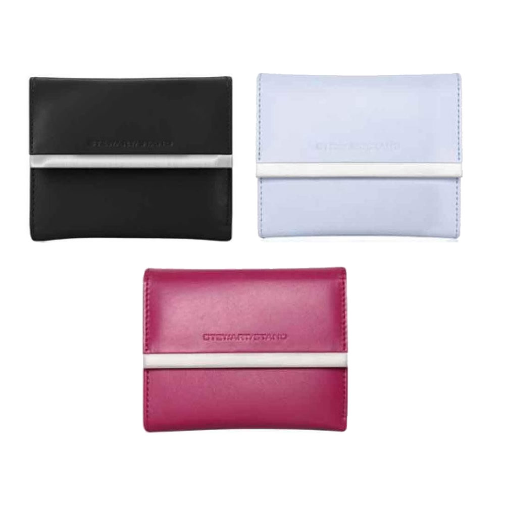 【代引き・同梱不可】NY発ブランド スチュワートスタンド(STEWART STAND) 三つ折り財布【財布・カードケース】