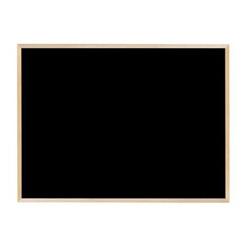 クリア塗装(ツヤ消し)の木枠ボード! 【代引き・同梱不可】馬印 木枠ボード ブラックボード 1200×900mm WOEB34【文具】