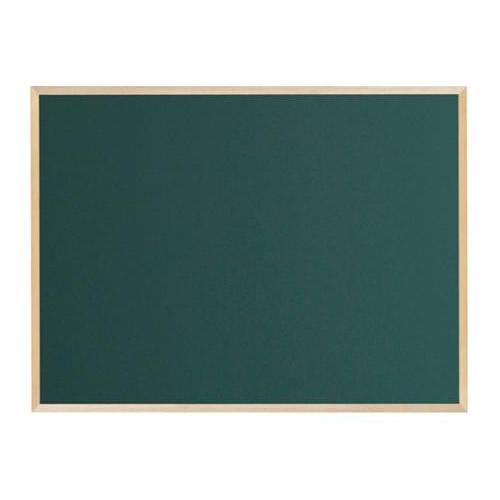 【代引き・同梱不可】馬印 木枠ボード スチールグリーン黒板 1200×900mm WOS34【文具】