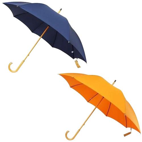 【代引き・同梱不可】日本の職人手作り 高密度織 木棒 手開き長傘 【傘】
